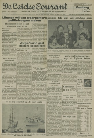 Leidse Courant 1958-06-21
