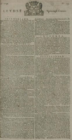 Leydse Courant 1734-12-01