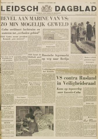 Leidsch Dagblad 1962-10-24
