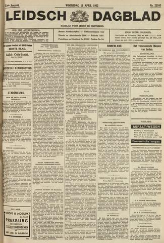 Leidsch Dagblad 1932-04-13