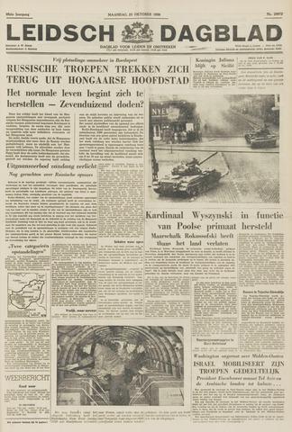 Leidsch Dagblad 1956-10-29