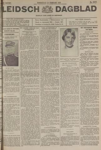 Leidsch Dagblad 1933-02-23