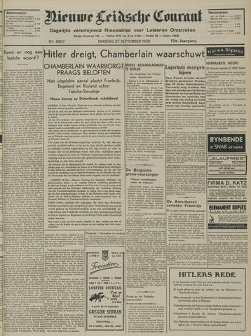 Nieuwe Leidsche Courant 1938-09-27