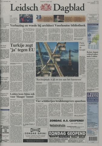 Leidsch Dagblad 1999-12-11