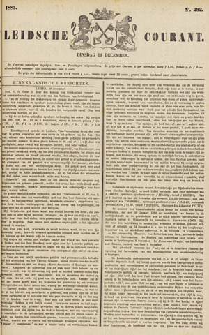Leydse Courant 1883-12-11