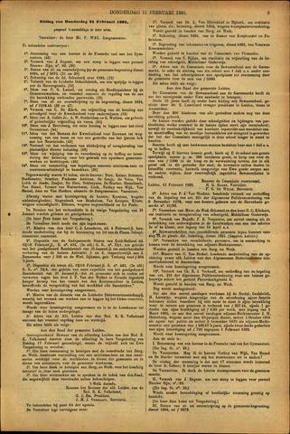 Handelingen van de Raad 1895-02-21