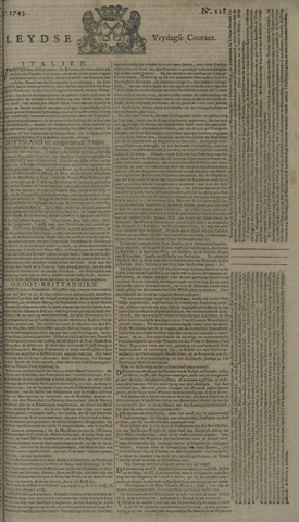 Leydse Courant 1745-10-01