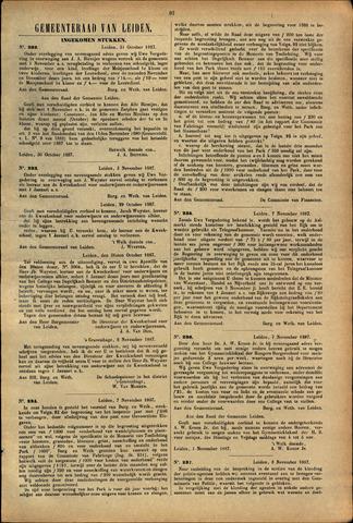 Handelingen van de Raad 1887-10-31