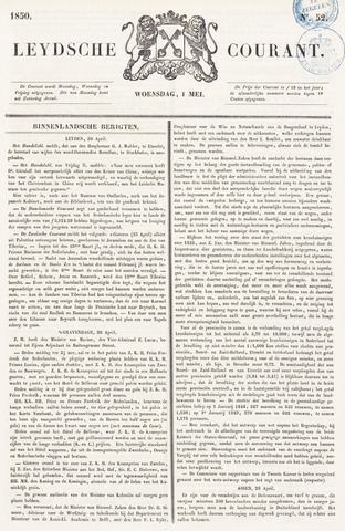 Leydse Courant 1850-05-01