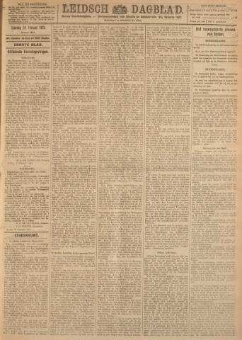 Leidsch Dagblad 1923-02-24