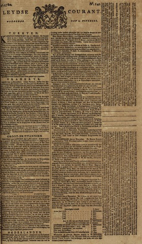 Leydse Courant 1780-11-22