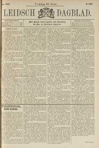 Leidsch Dagblad 1893-06-16