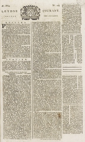Leydse Courant 1814-09-02