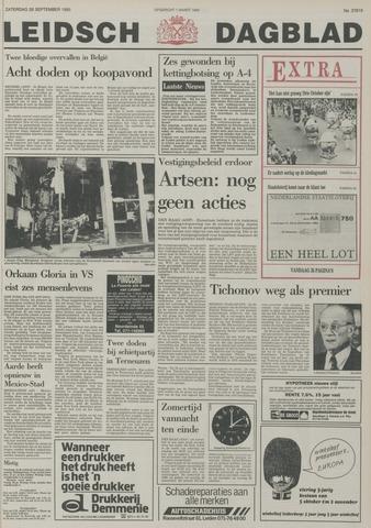 Leidsch Dagblad 1985-09-28