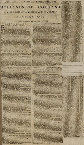 Leydse Courant 1795-04-15