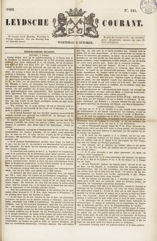 Leydse Courant 1862-10-08