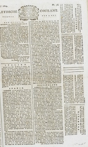 Leydse Courant 1824-05-14