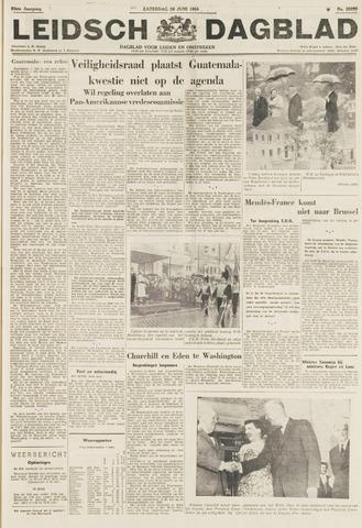 Leidsch Dagblad 1954-06-26