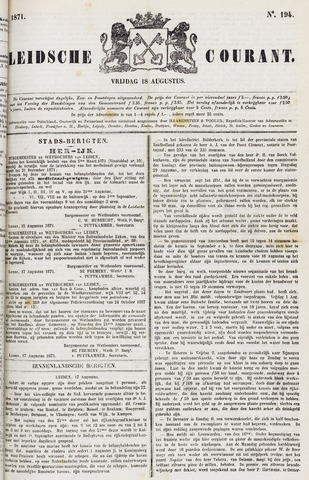 Leydse Courant 1871-08-18