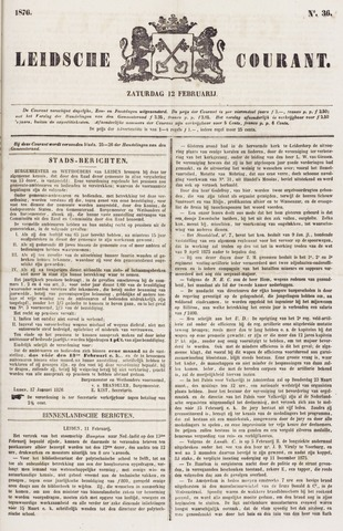 Leydse Courant 1876-02-12