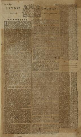 Leydse Courant 1789