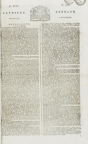 Leydse Courant 1841-11-08