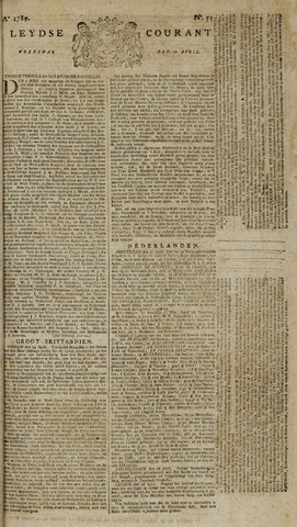 Leydse Courant 1789-04-29