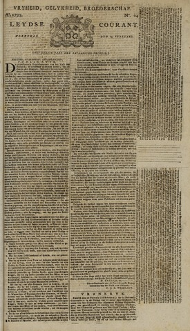 Leydse Courant 1795-02-25