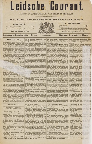 Leydse Courant 1885-12-31