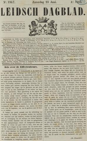 Leidsch Dagblad 1866-06-23