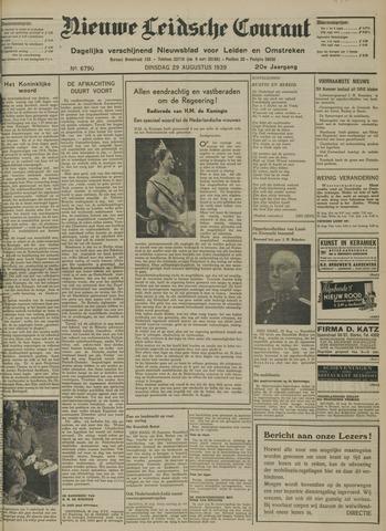 Nieuwe Leidsche Courant 1939-08-29