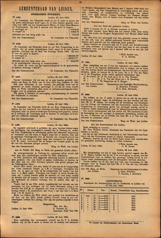 Handelingen van de Raad 1894-06-23