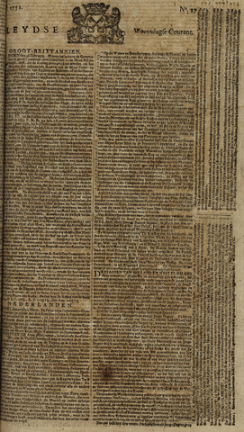 Leydse Courant 1751-03-03
