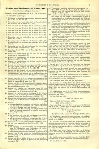 Handelingen van de Raad 1912-03-21