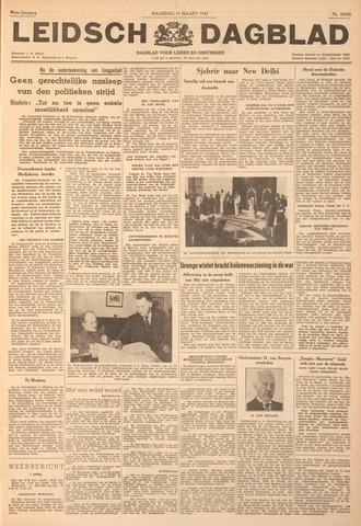 Leidsch Dagblad 1947-03-31