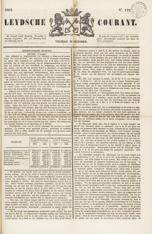 Leydse Courant 1862-10-10