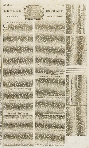 Leydse Courant 1822-09-20