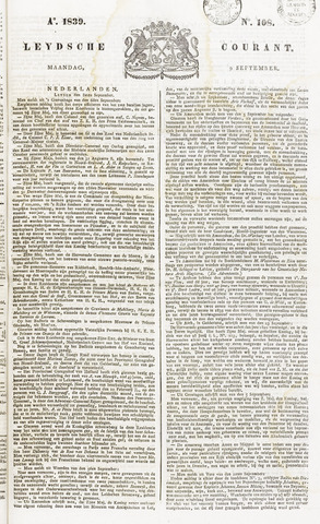 Leydse Courant 1839-09-09