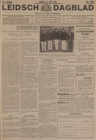 Leidsch Dagblad 1938-06-28