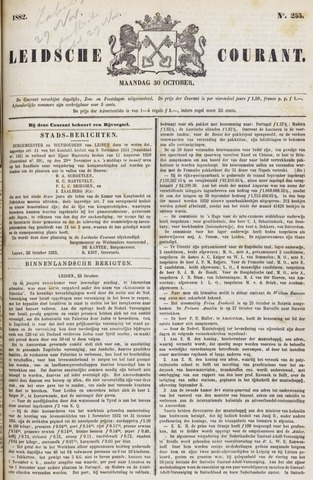 Leydse Courant 1882-10-30