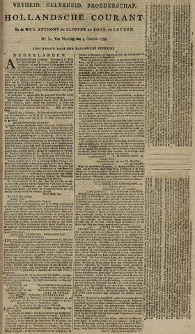 Leydse Courant 1795-10-05
