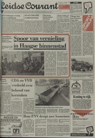 Leidse Courant 1987-09-21