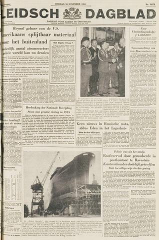 Leidsch Dagblad 1954-11-16