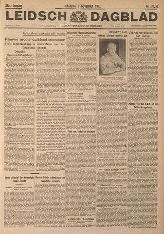 Leidsch Dagblad 1942-11-02