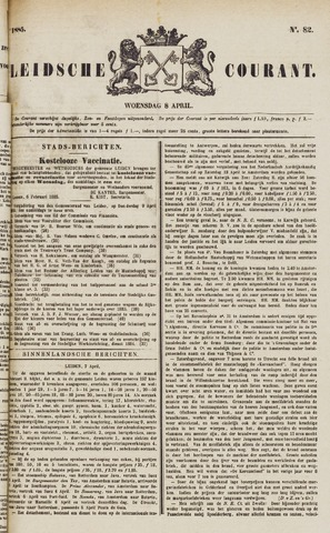 Leydse Courant 1885-04-08