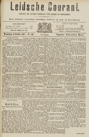 Leydse Courant 1887-10-19