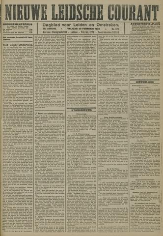 Nieuwe Leidsche Courant 1923-02-23