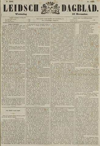 Leidsch Dagblad 1869-11-10