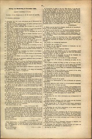 Handelingen van de Raad 1881-11-17