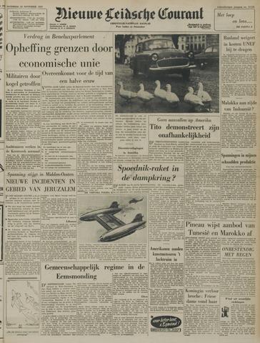 Nieuwe Leidsche Courant 1957-11-23